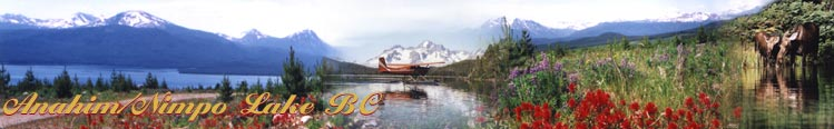 Anahim/Nimpo Lake BC Header Photo